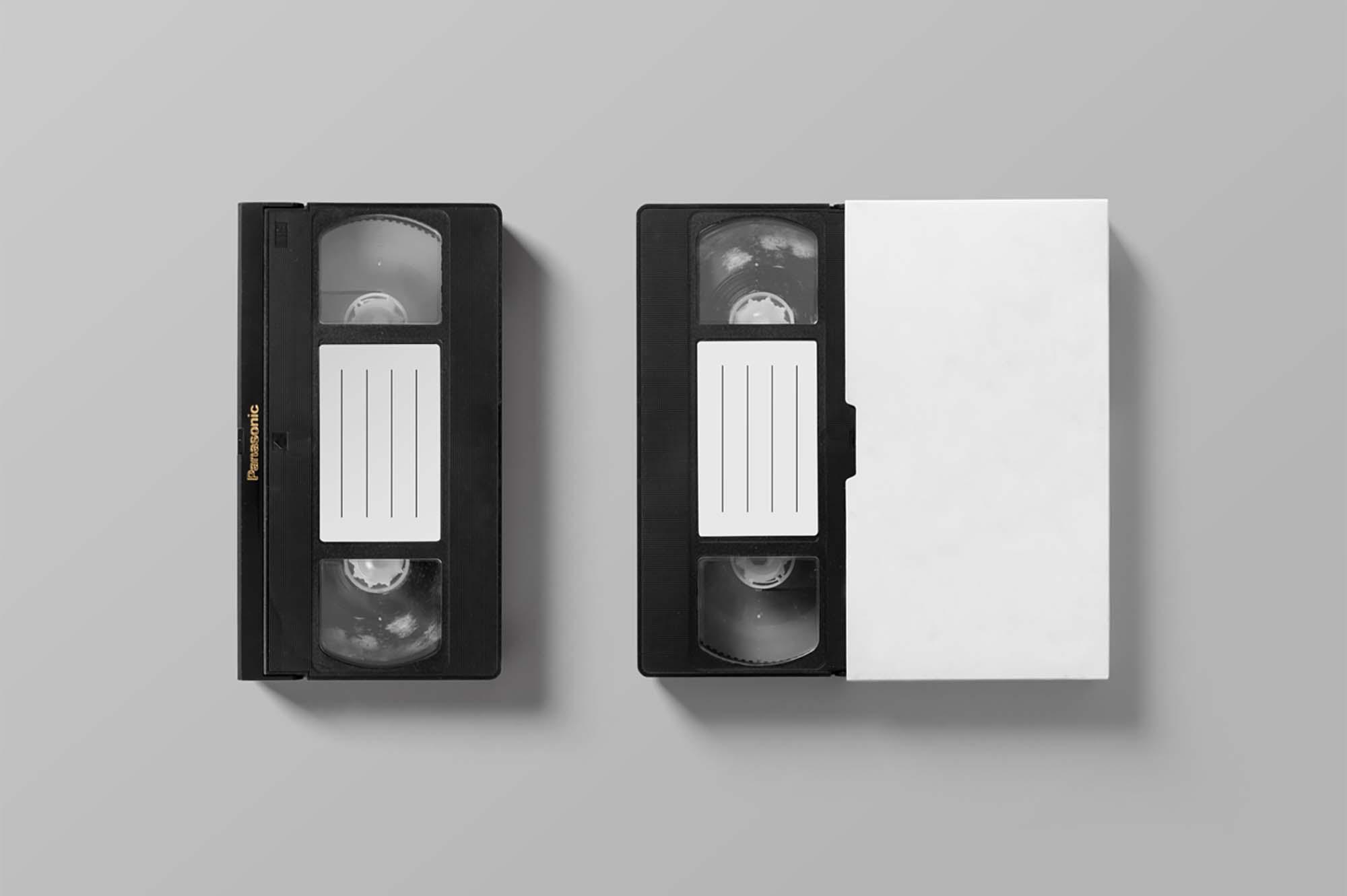 VHS Tape Mockup 2