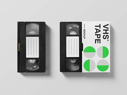 VHS Tape Mockup