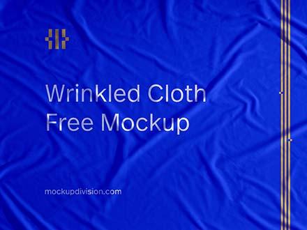 Wrinkled Cloth Mockup