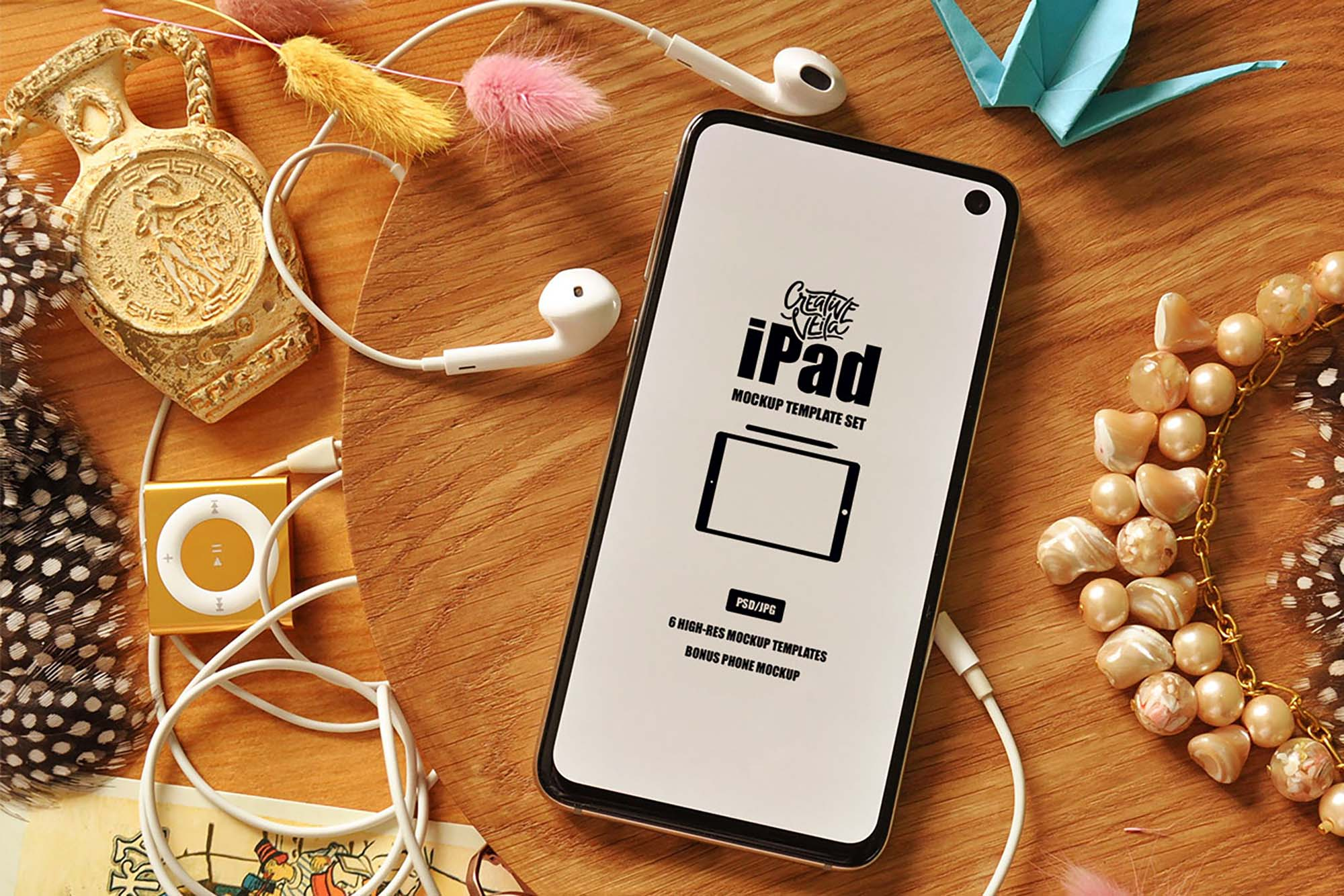 iPad Mockup Template 5