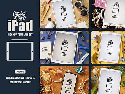 iPad Mockup Templates