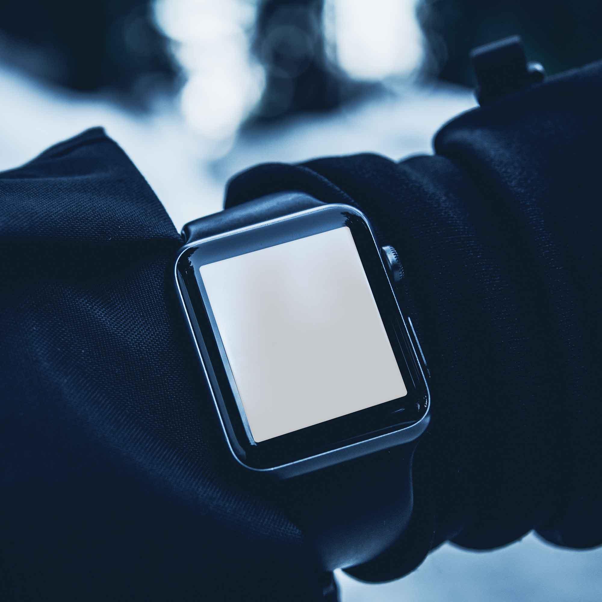 In Hand Apple Watch Mockup 2