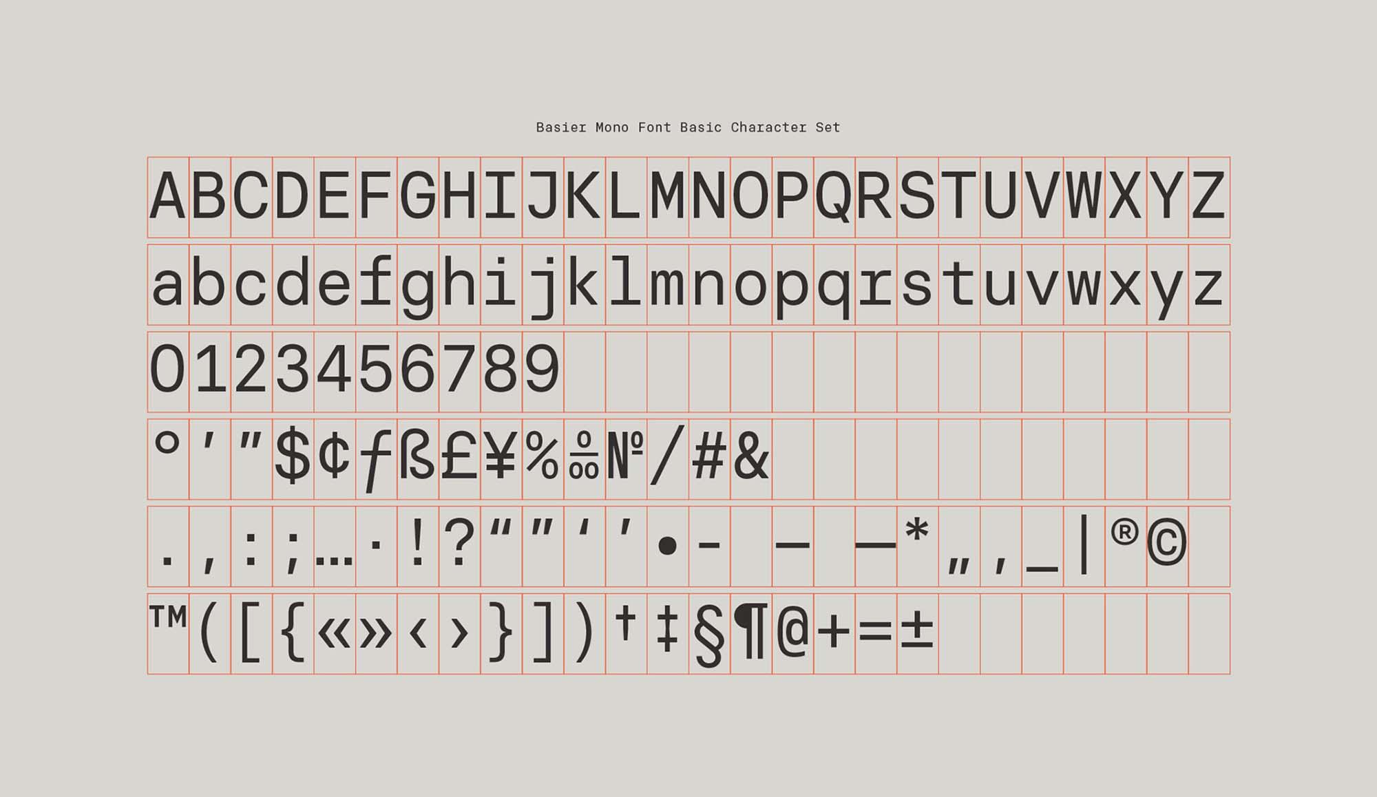 Basier Mono Font 3