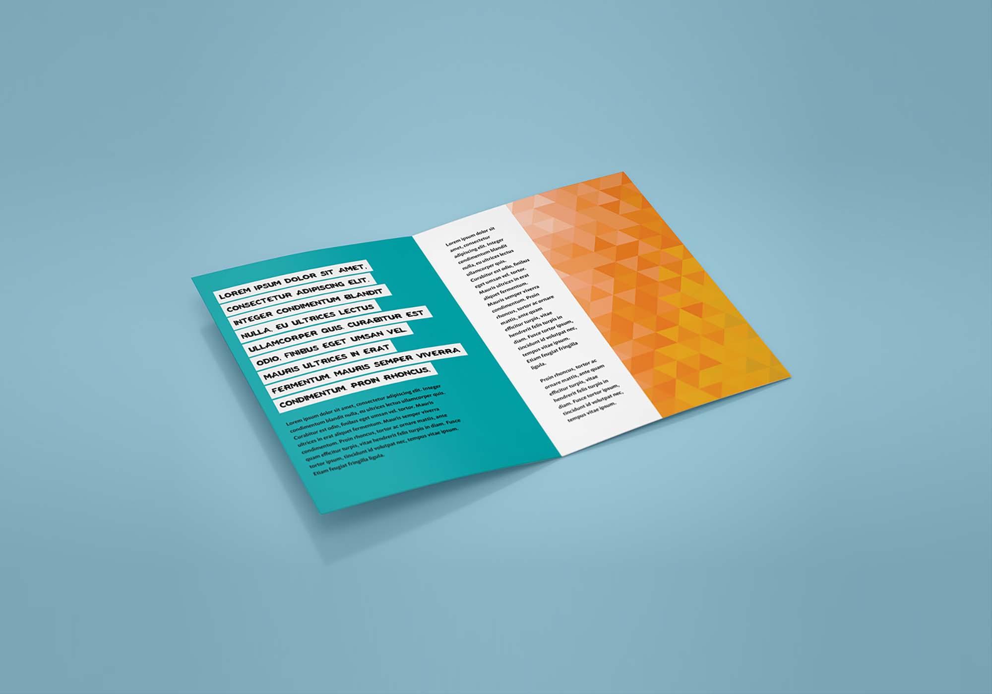 Bifold Leaflet Mockup 1