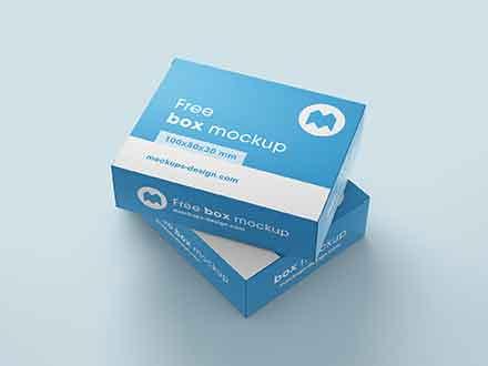 Box Mockup (100x80x30)