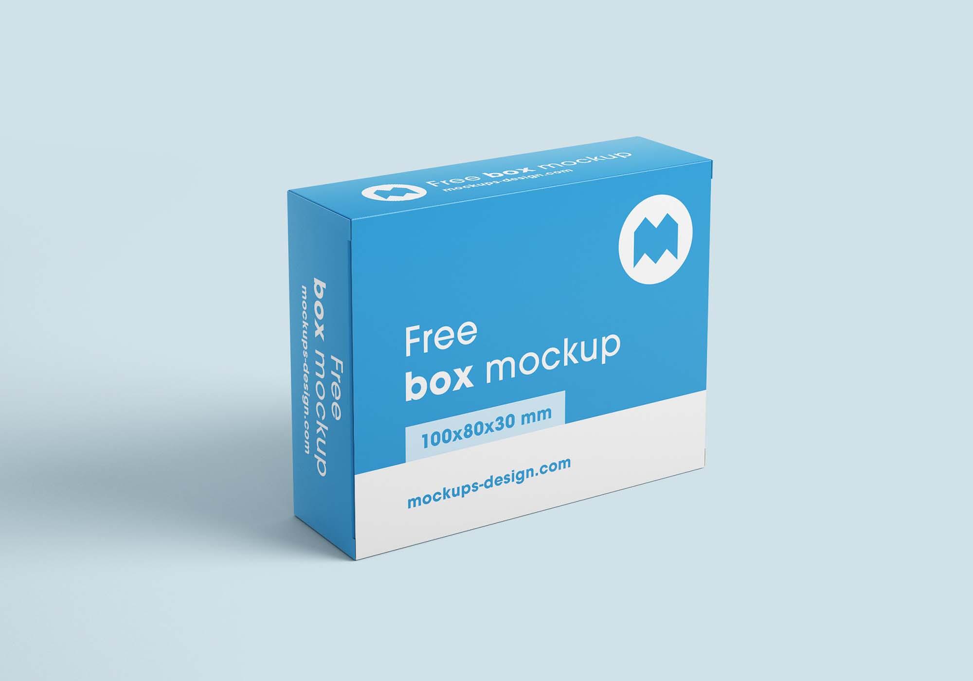 Box Mockup 2 (100x80x30)
