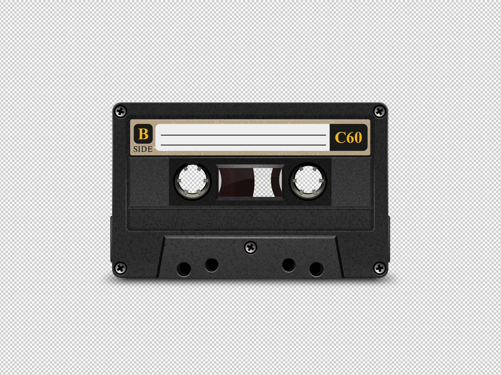 Cassette Tape Case Template from unblast.com