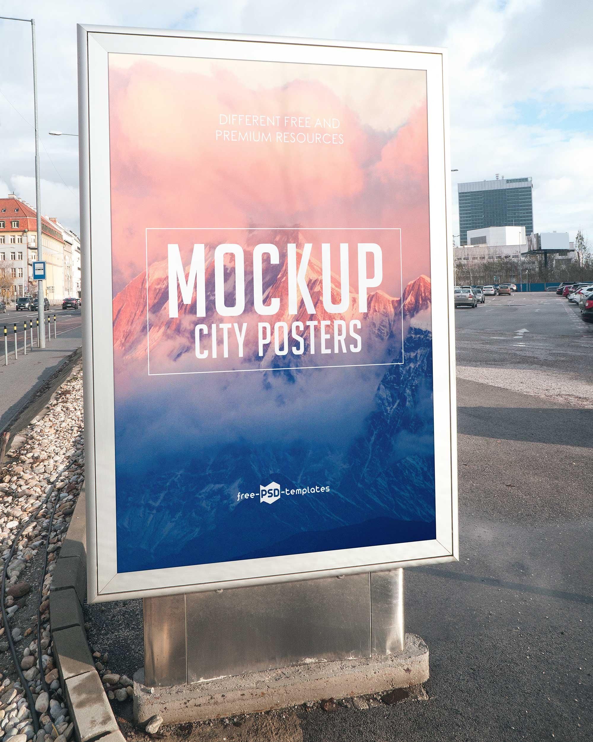 City Poster Mockup 2