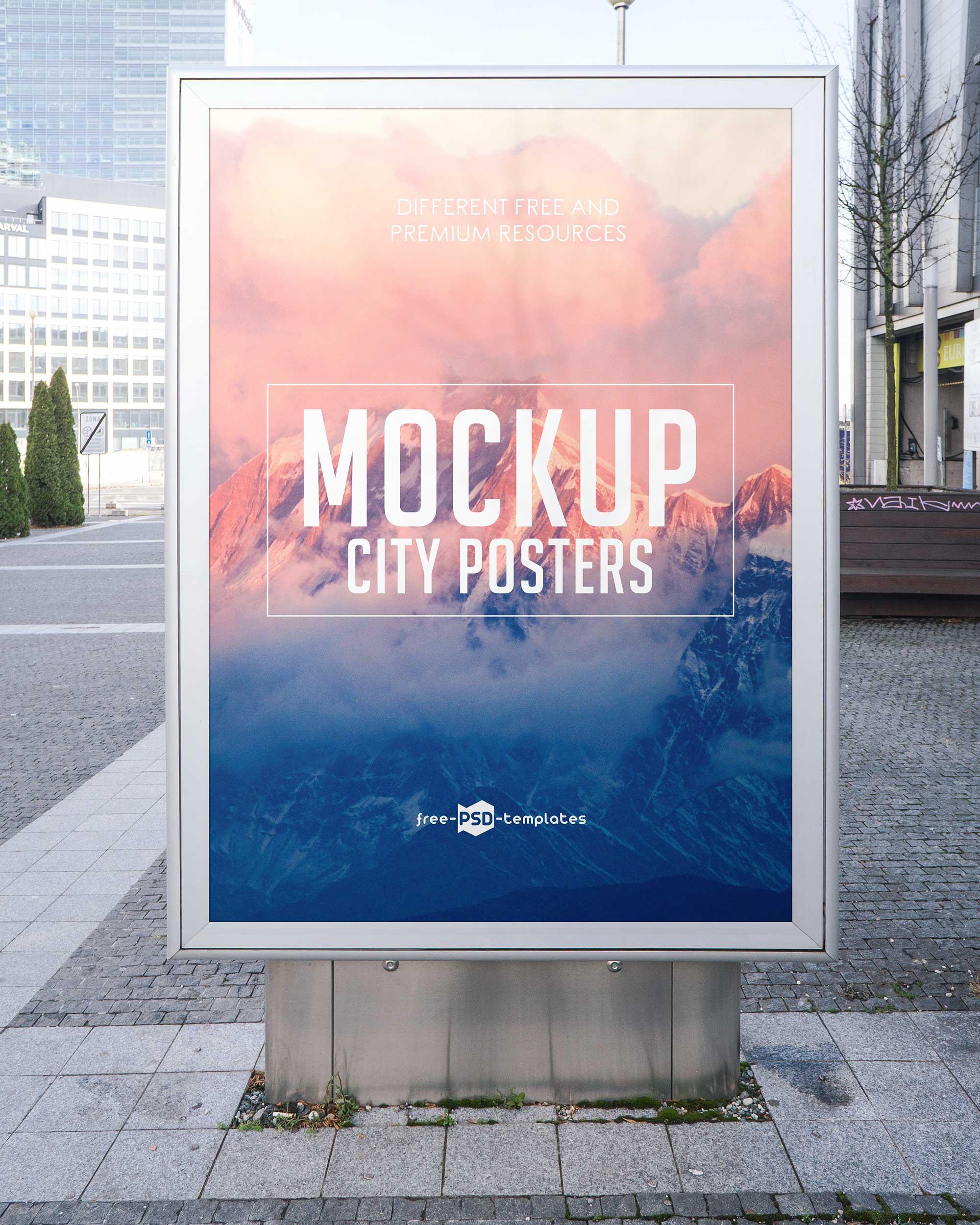 City Poster Mockup