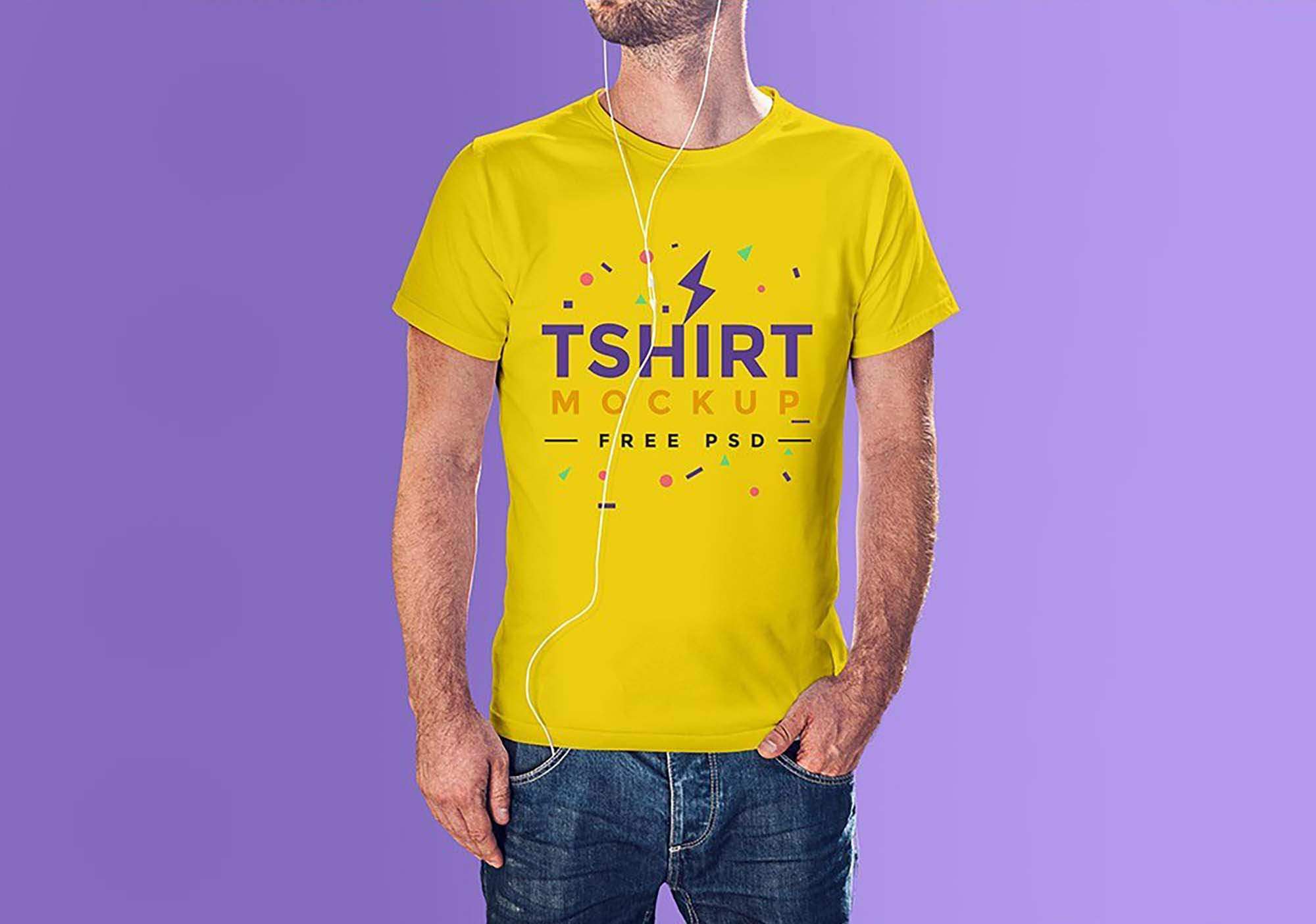 Clean T-Shirt Mockup 2