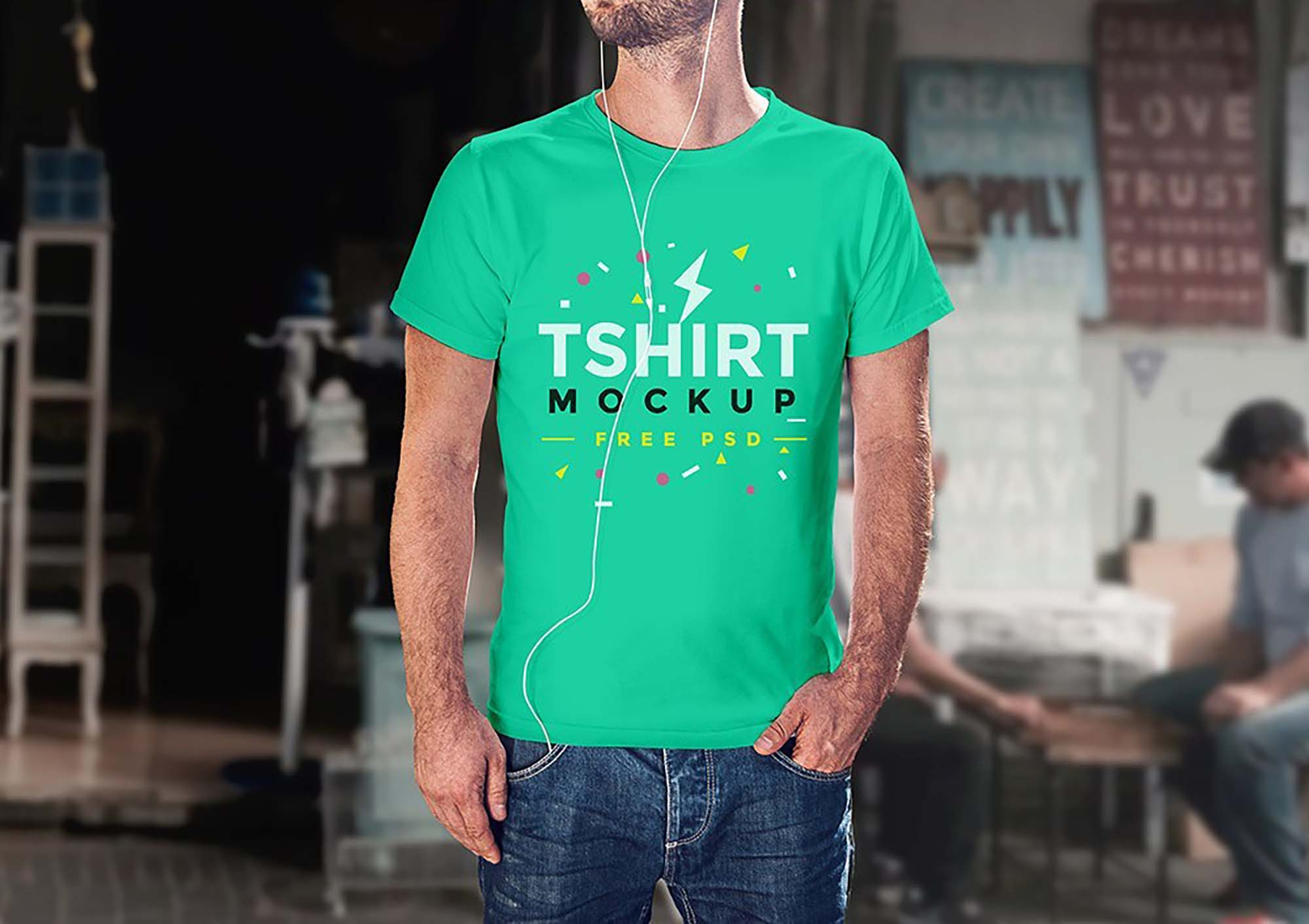 Clean T-Shirt Mockup 3