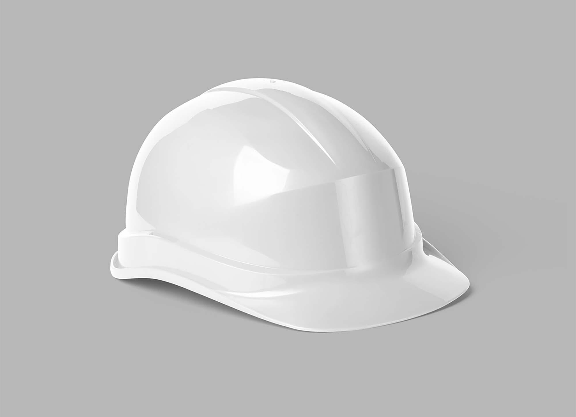 Classic Construction Helmet Mockup