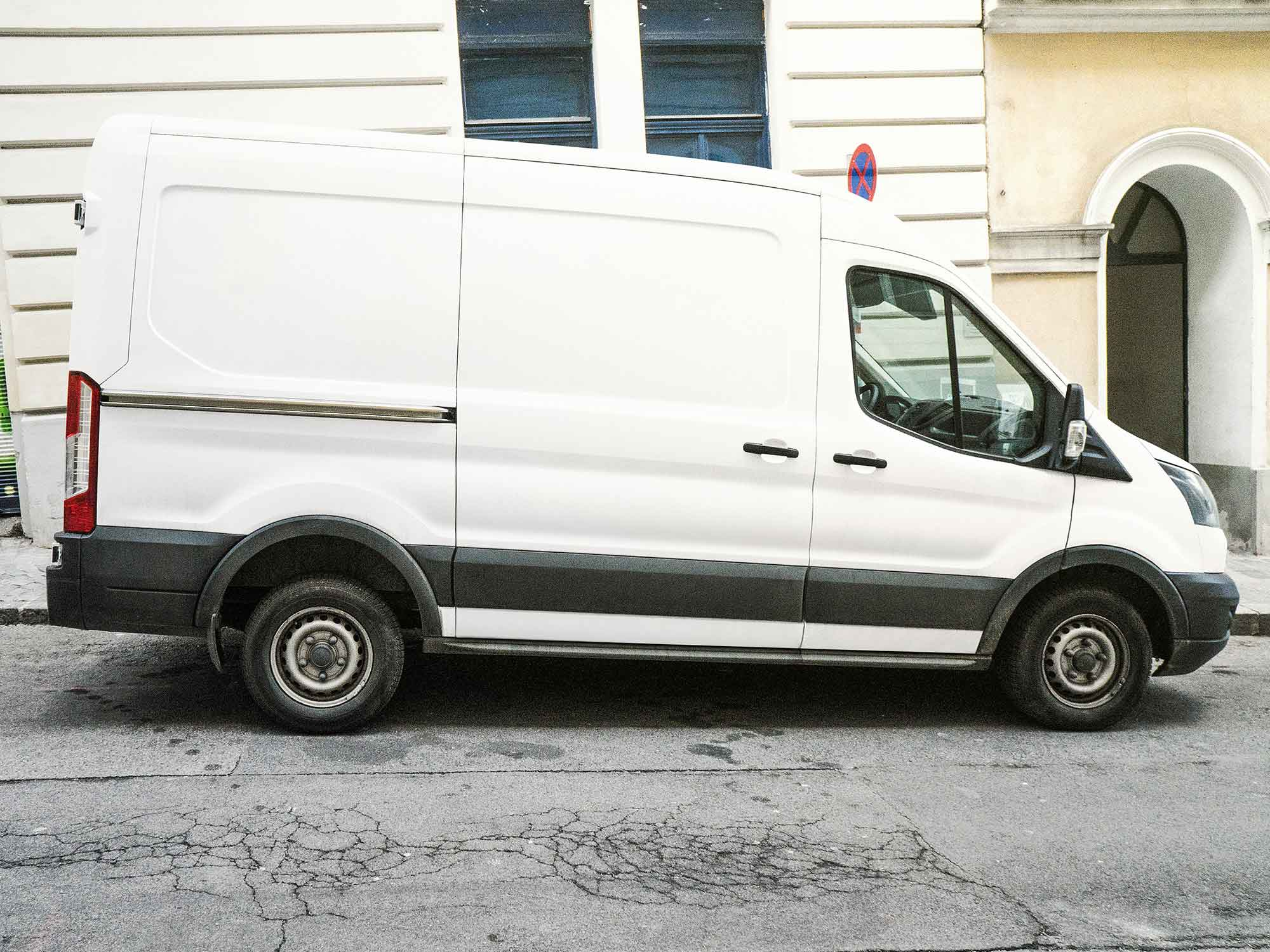 Delivery Car Mockup 2