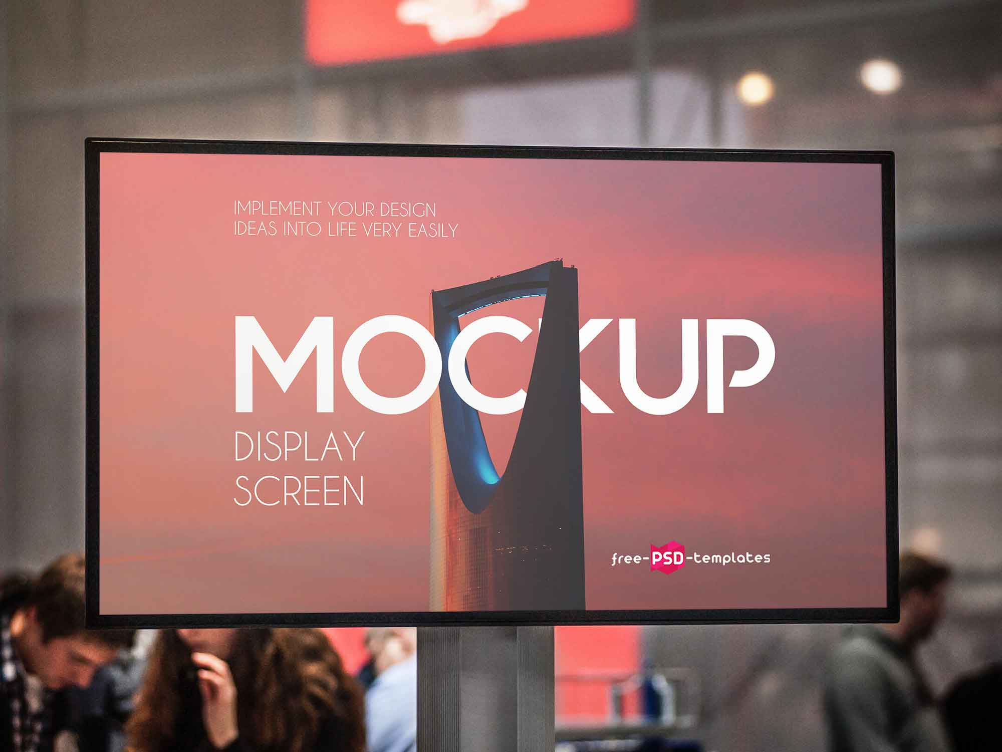 Display Screen Mockup