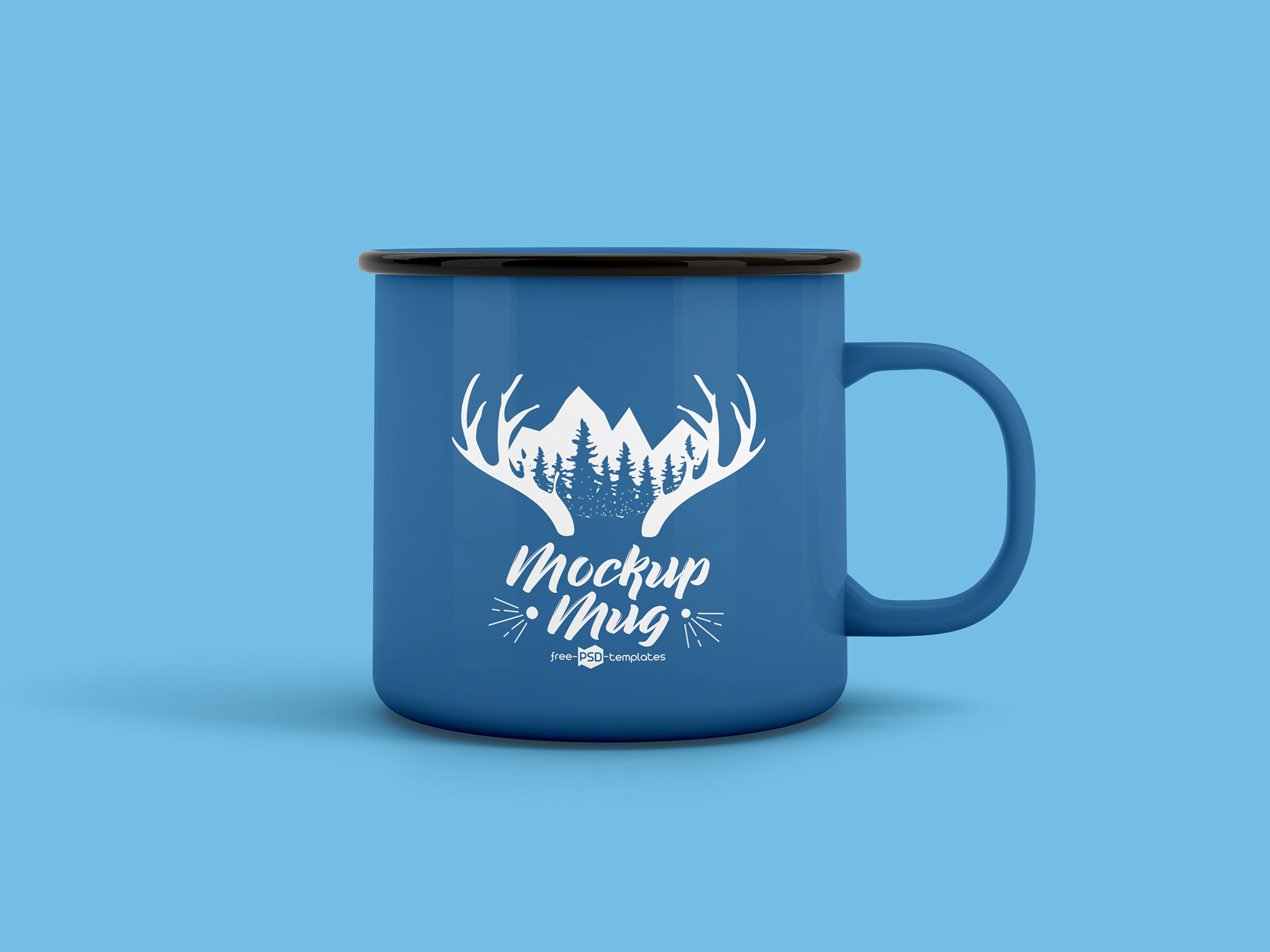 Enamel Mug Mockup 3