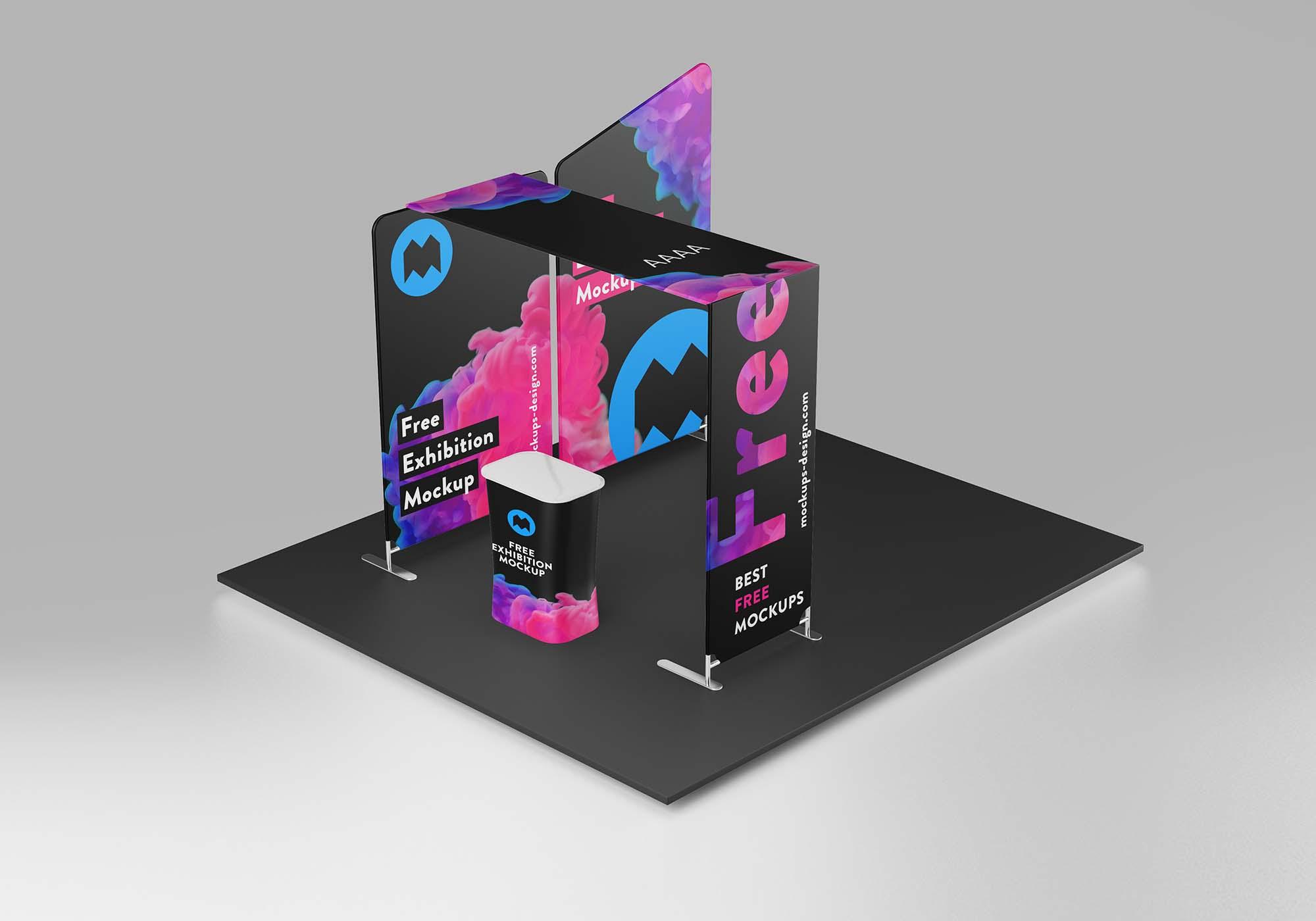 Exhibition Mockup 2
