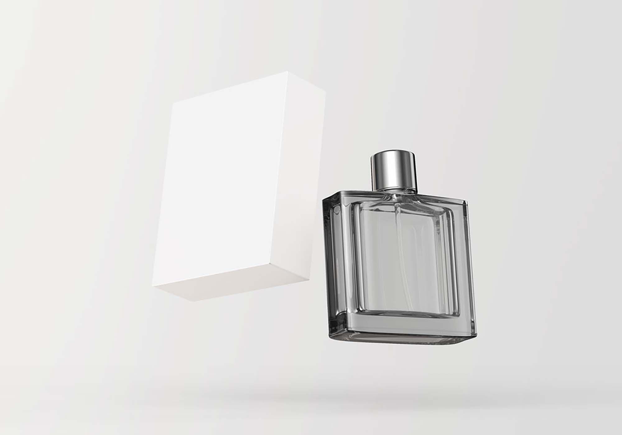 Floating Perfume Mockup 2