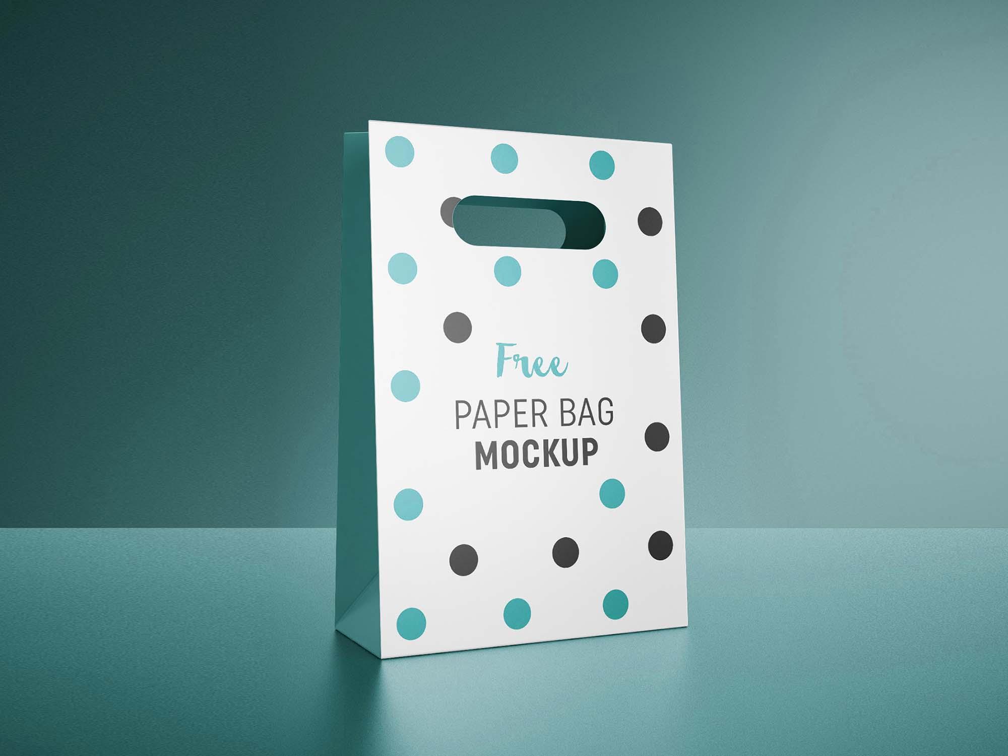Gift Bag Mockup 1