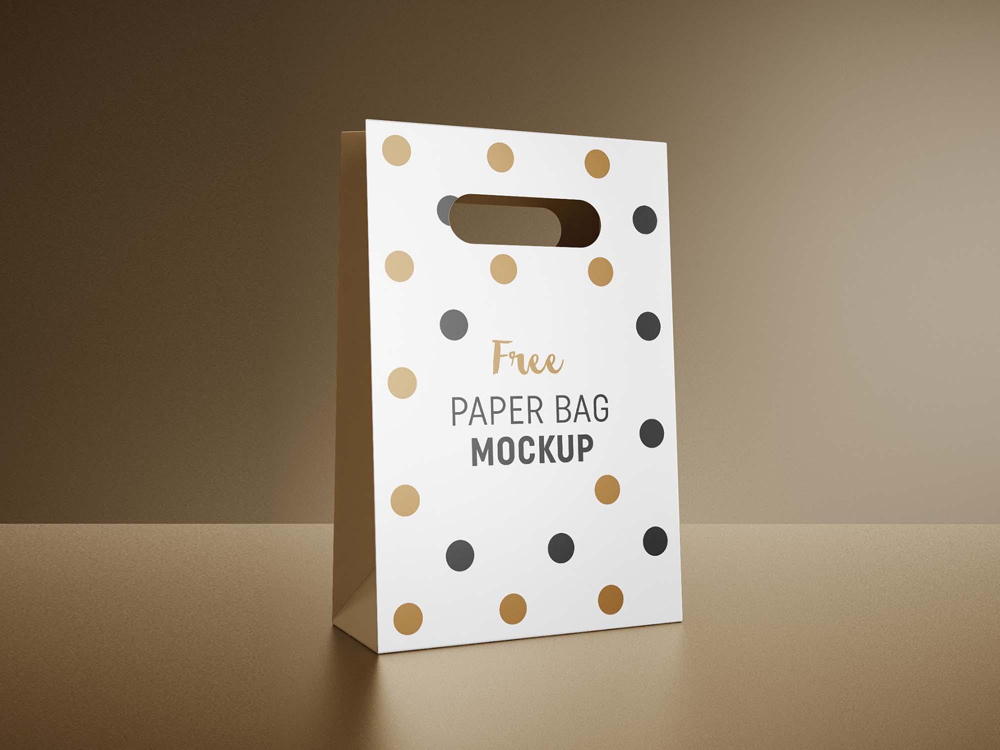Gift Bag Mockup 3