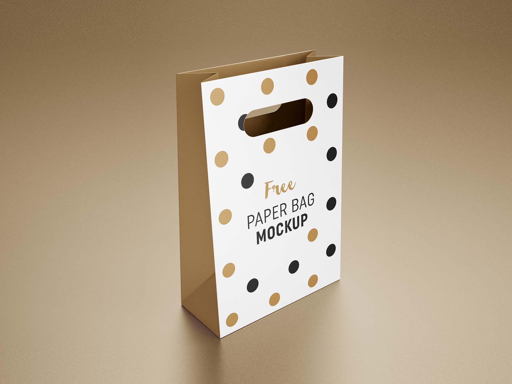 Gift Bag Mockup 4