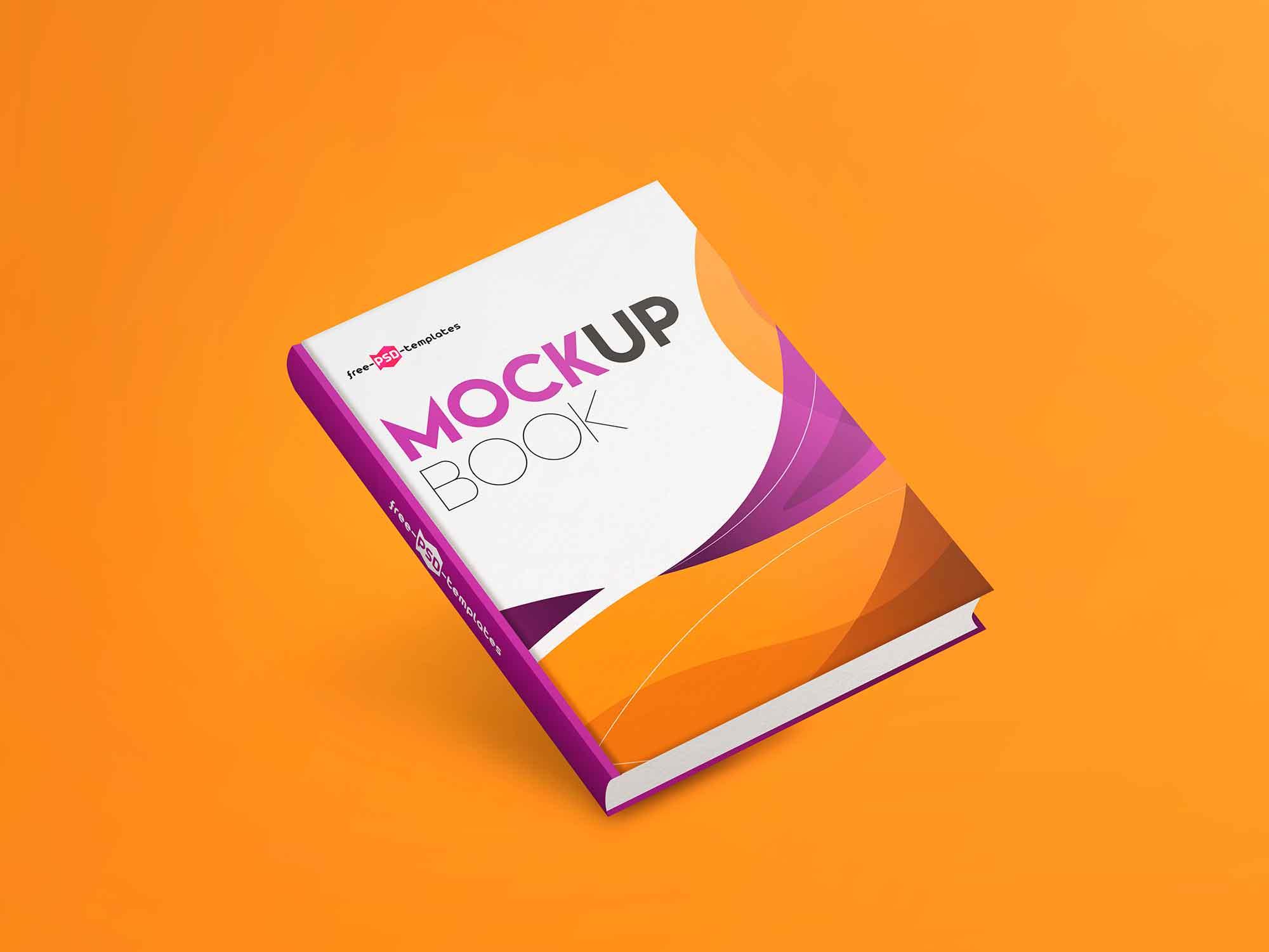 Hardcover Book Mockup 2