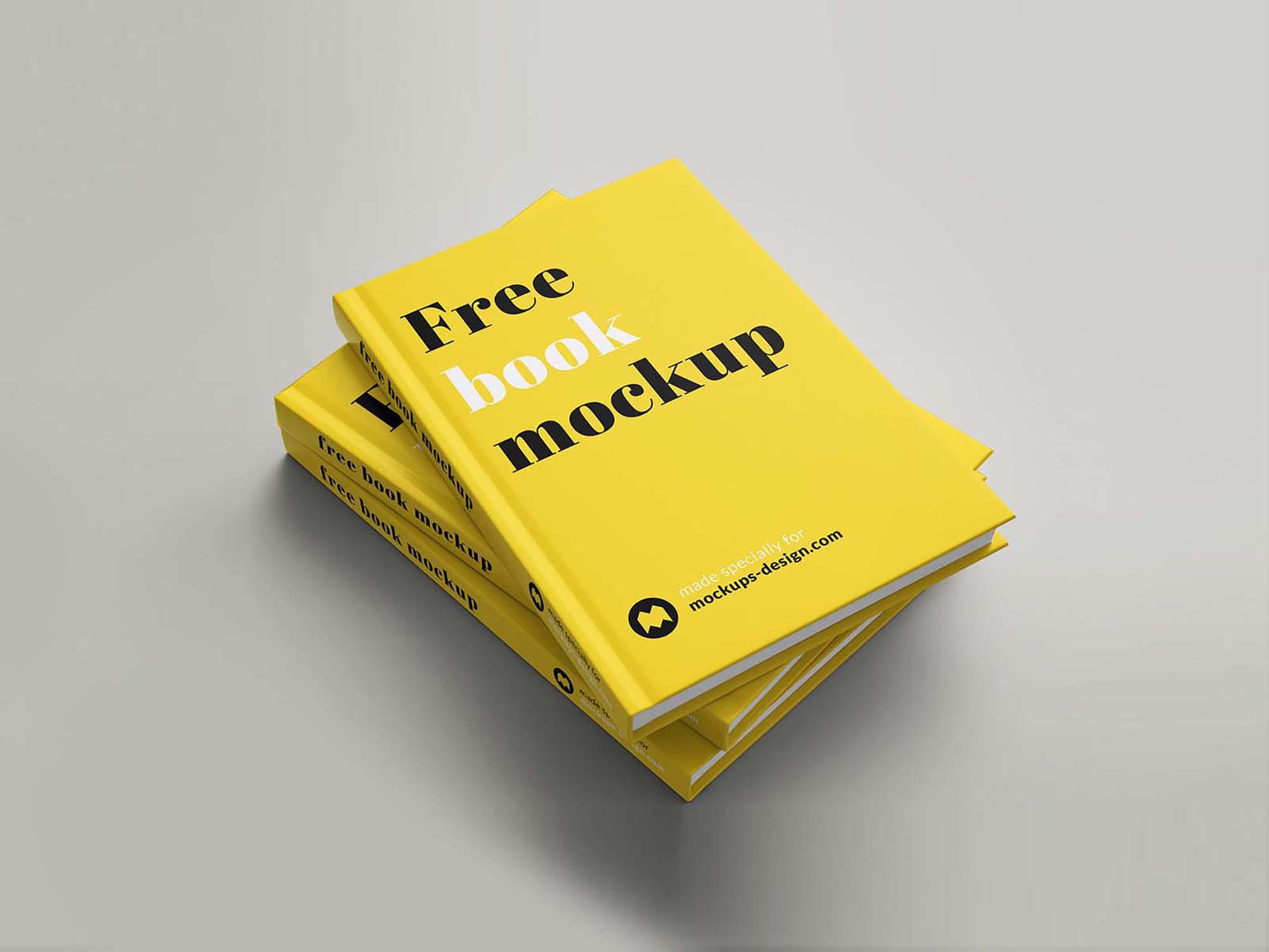 Hardcover Book Mockup 7