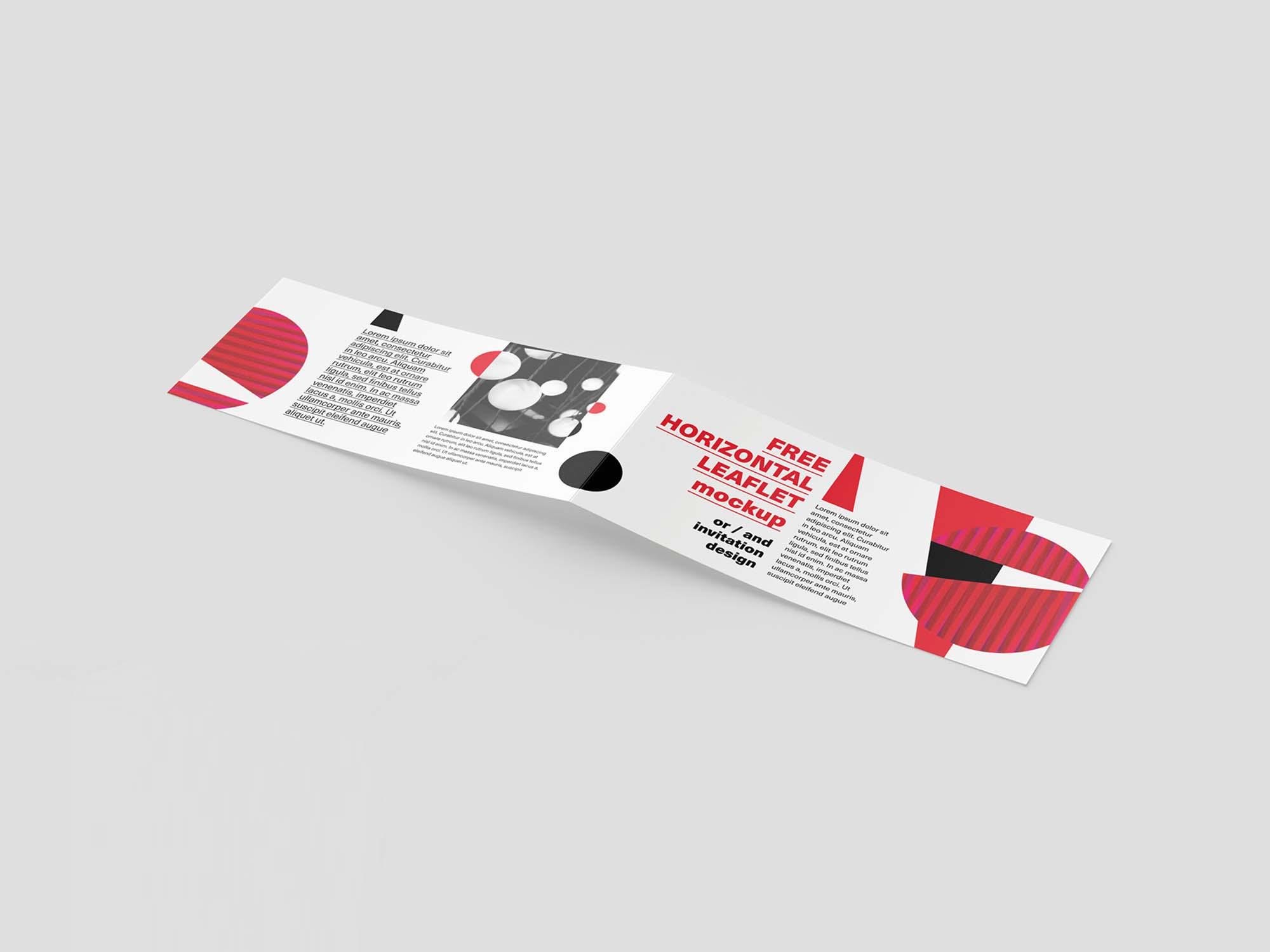 Horizontal DL Leaflet Mockup 2