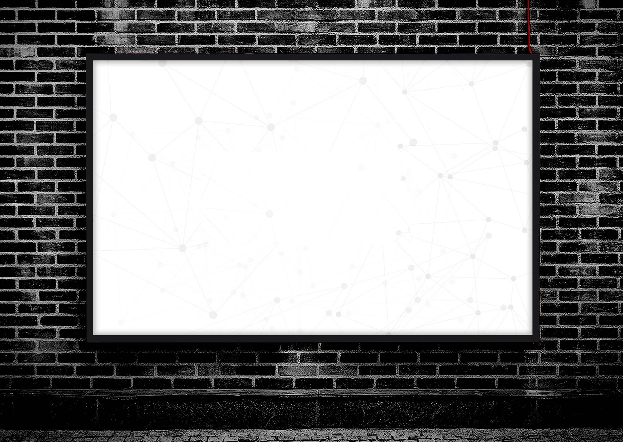 Industrial Poster Mockup 2