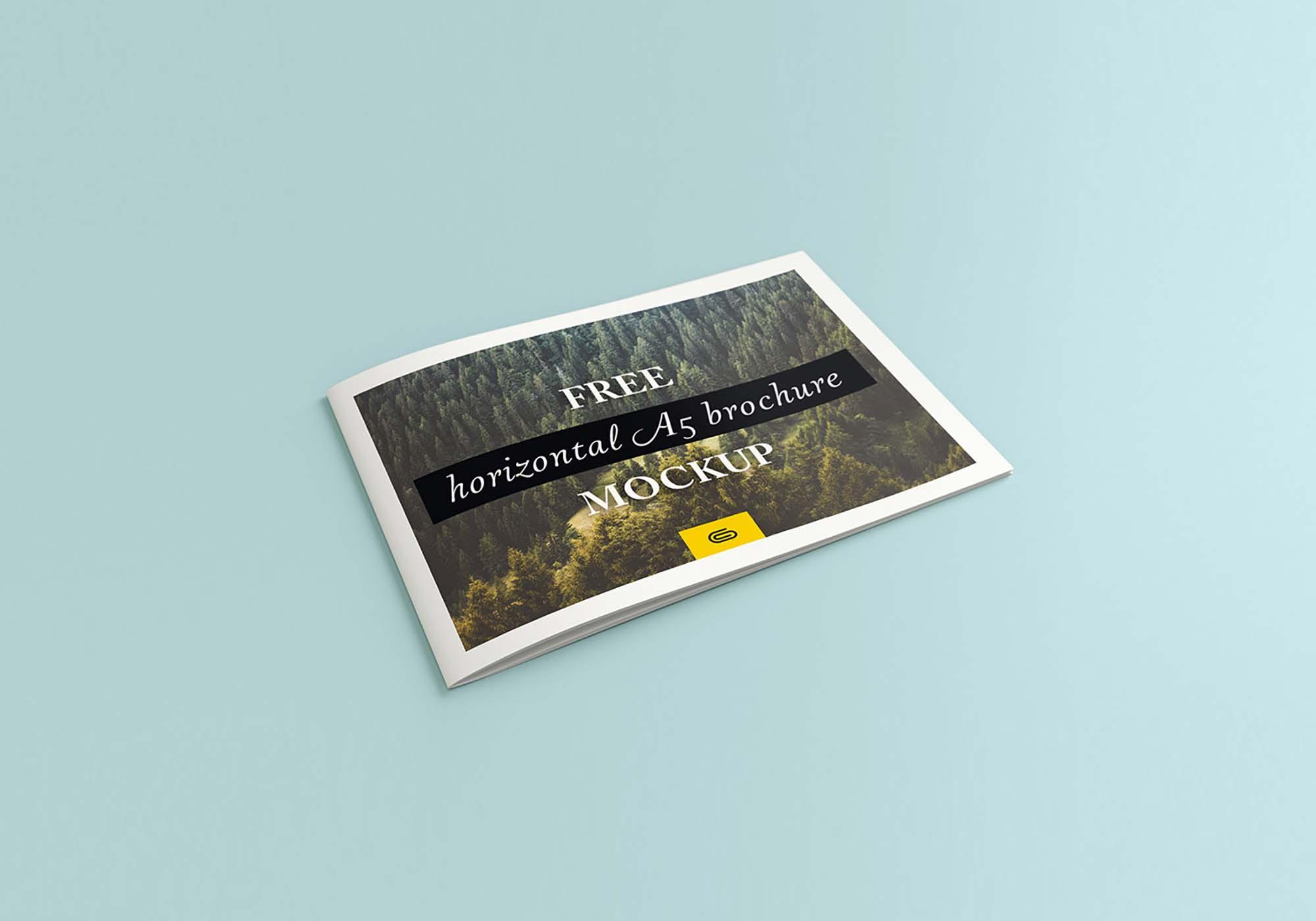 Landscape Brochure Mockup