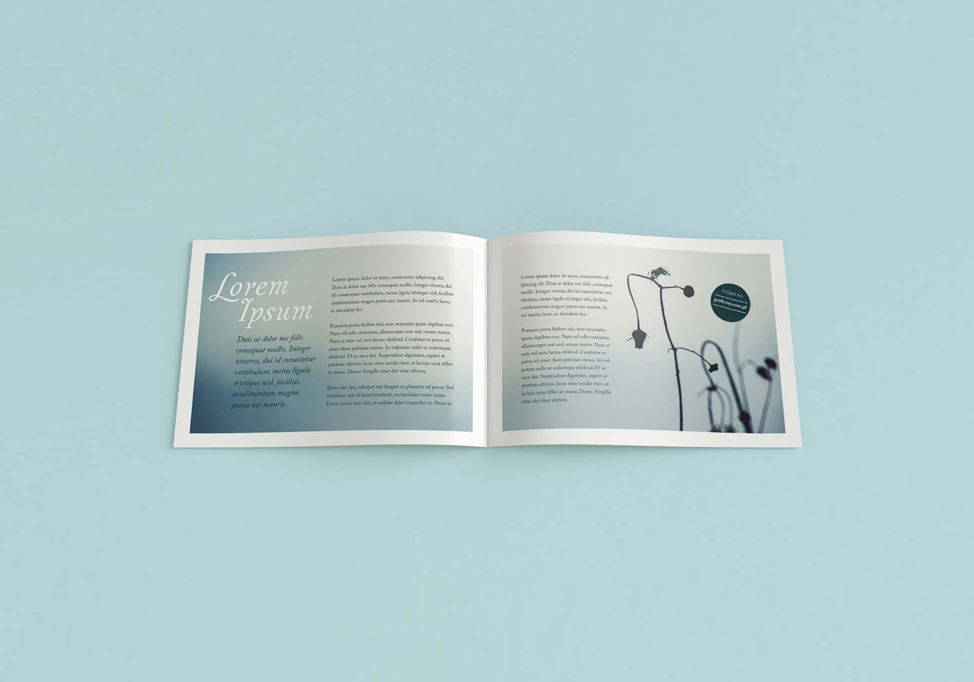 Landscape Brochure Mockup 2