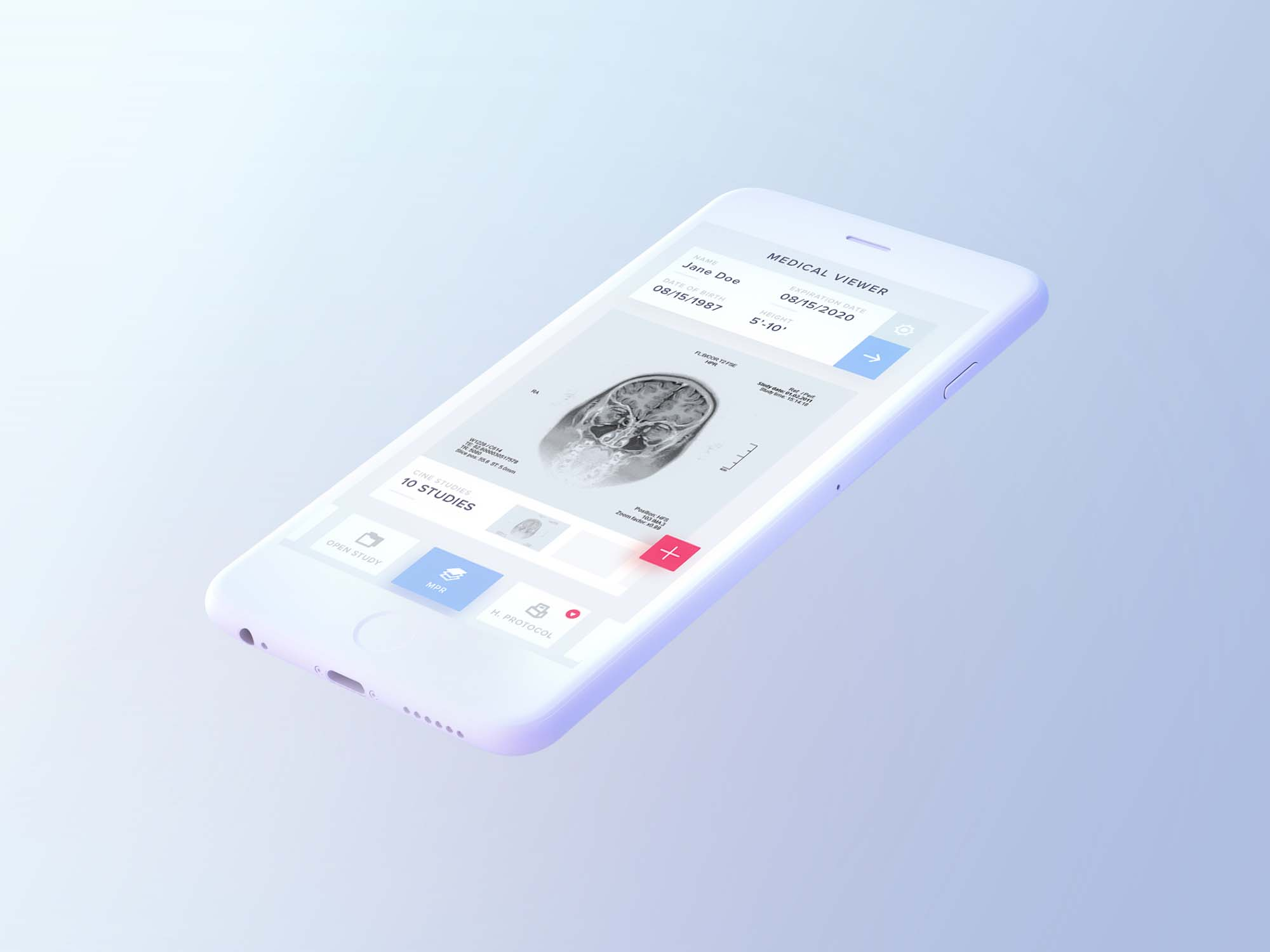 Light iPhone Mockup