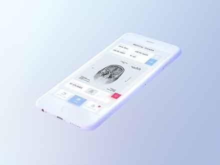 Light iPhone Mockup