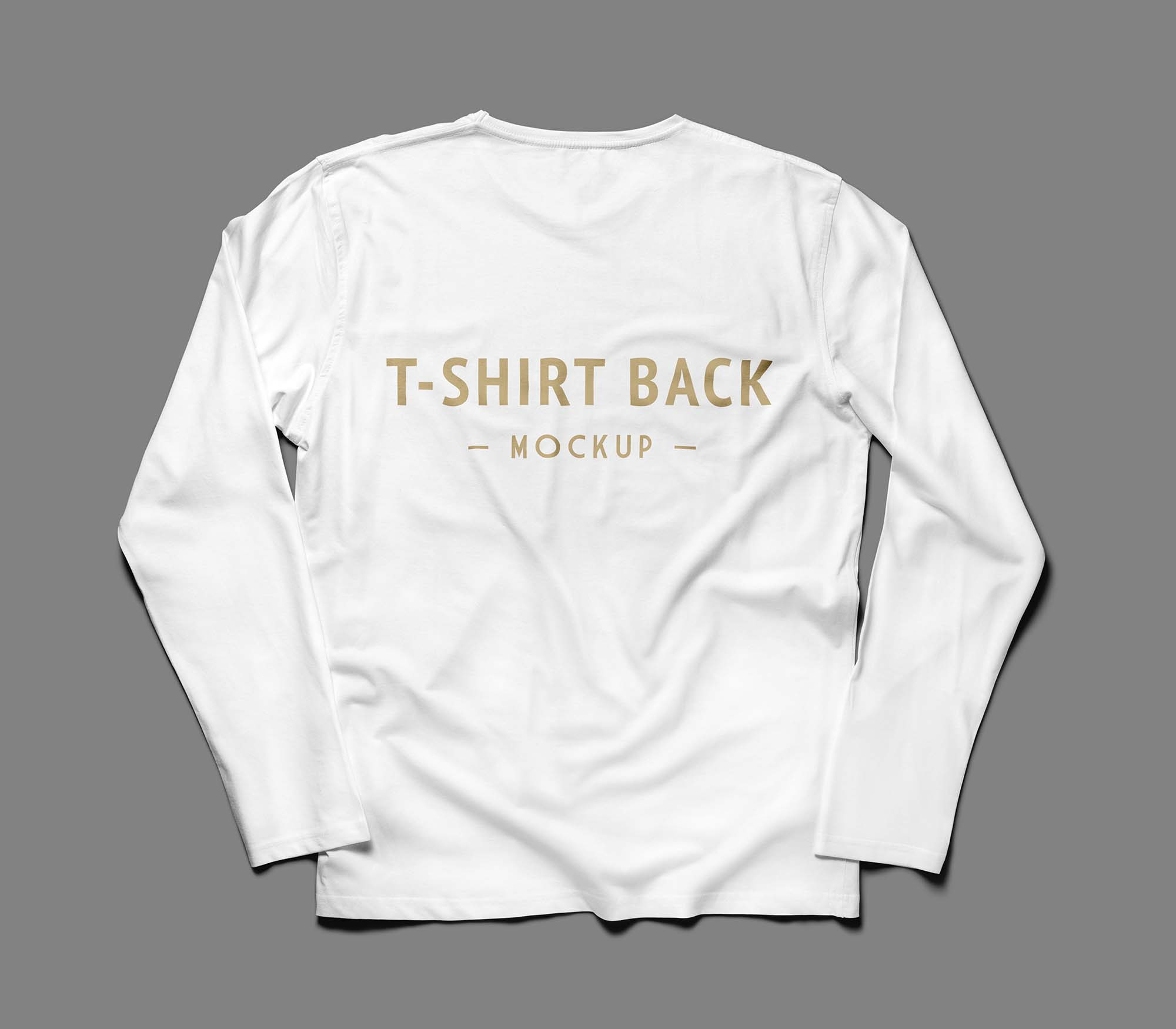 Long Sleeve T-Shirt Mockup 2