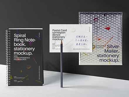Mailing Stationery Mockup