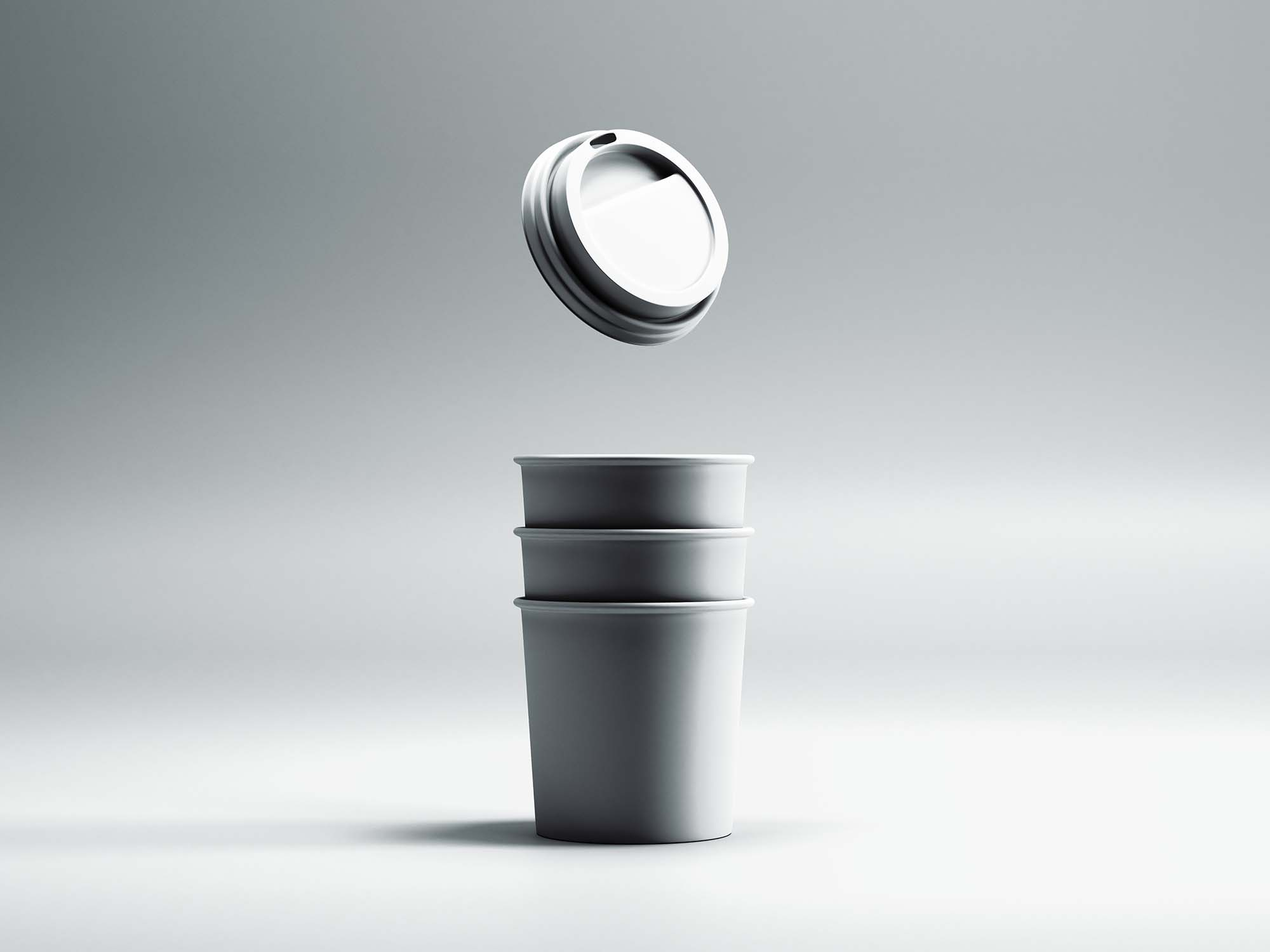 Mini Coffee Cup Mockup 2