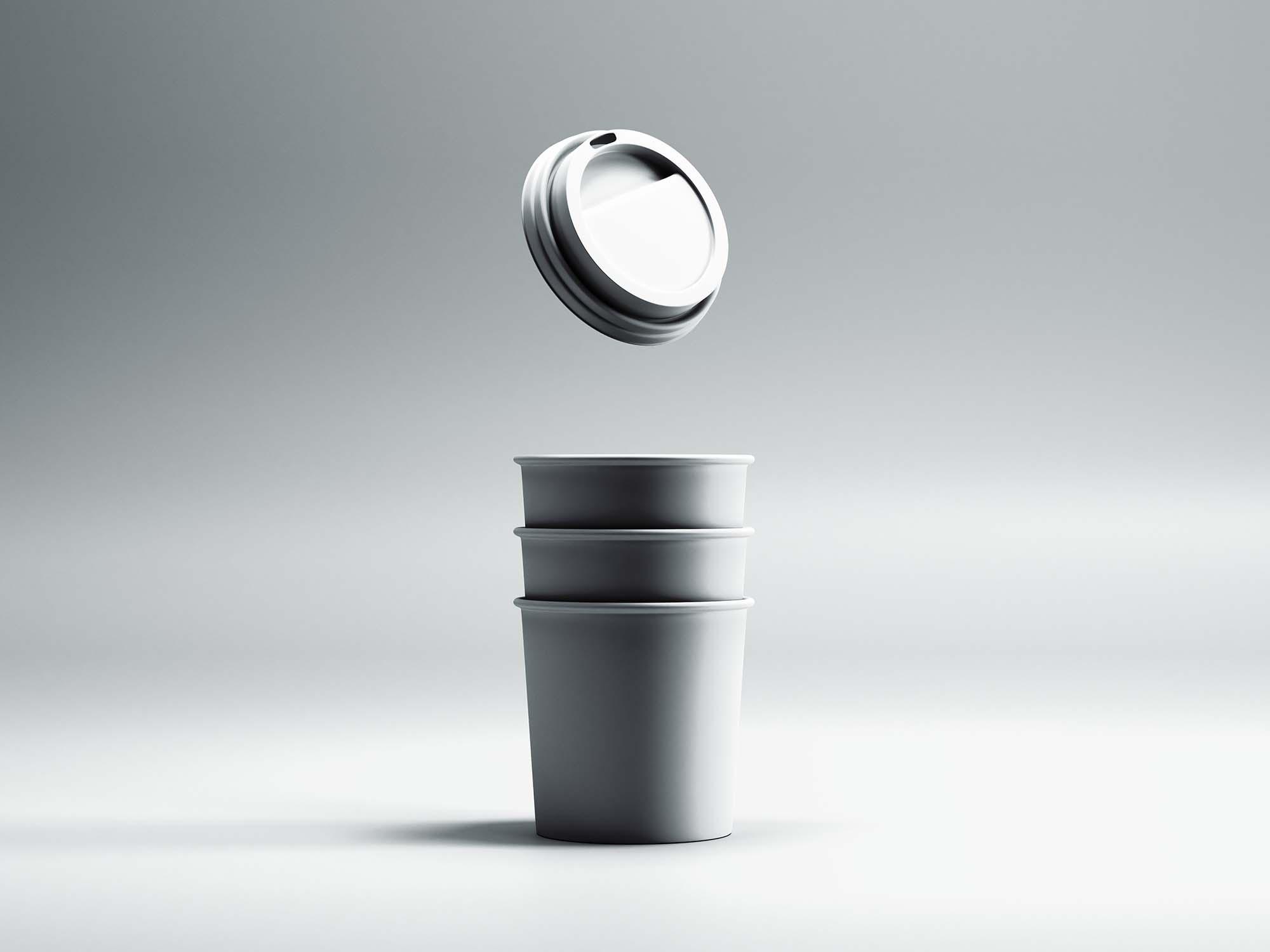 Mini Coffee Cup Mockup 2