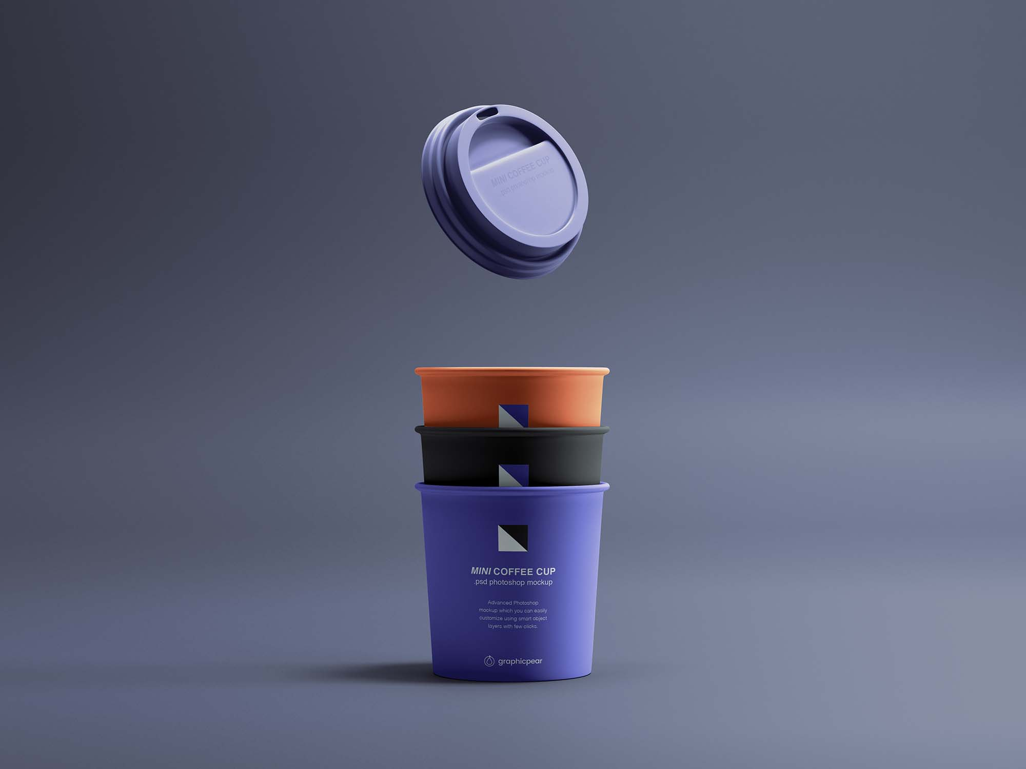 Mini Coffee Cup Mockup