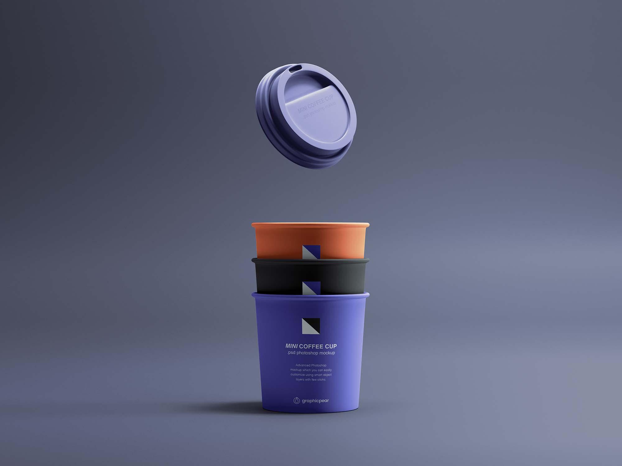 Mini Coffee Cup Mockup
