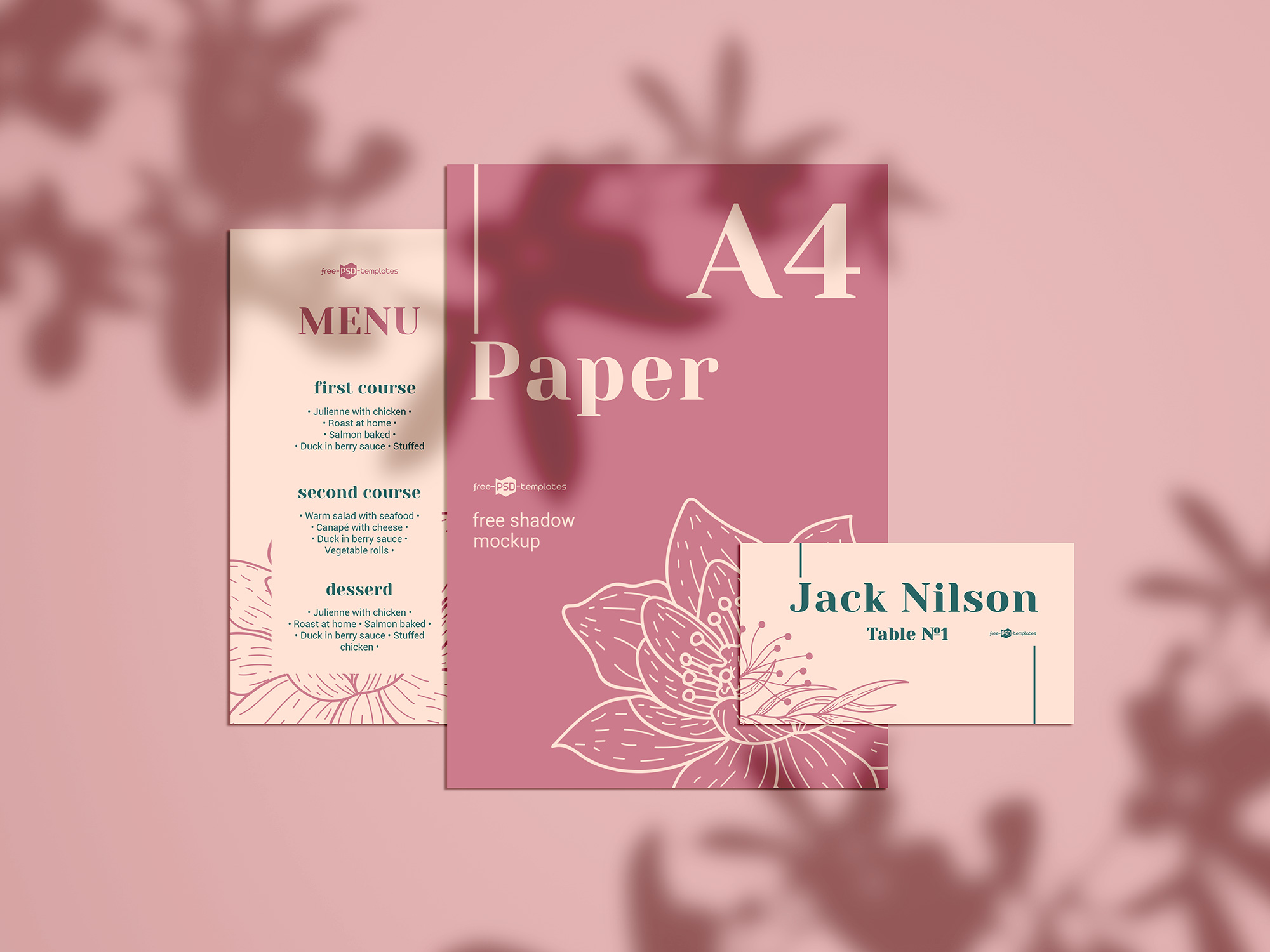 Paper Branding Mockup 3