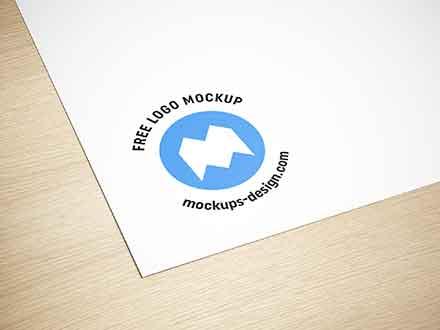 Paper Logo Mockup