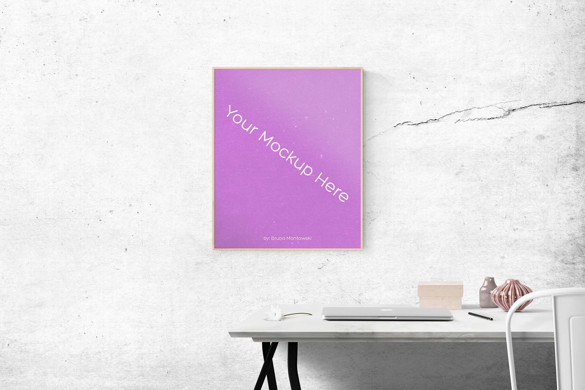Poster Frame Mockup 4