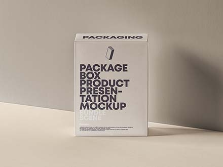 Product Packaging Box Mockup