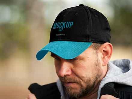 Realistic Cap Mockup