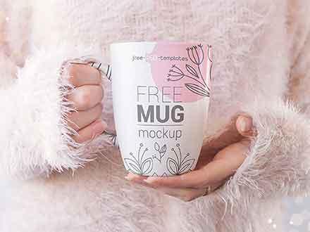 Realistic Mug Mockup