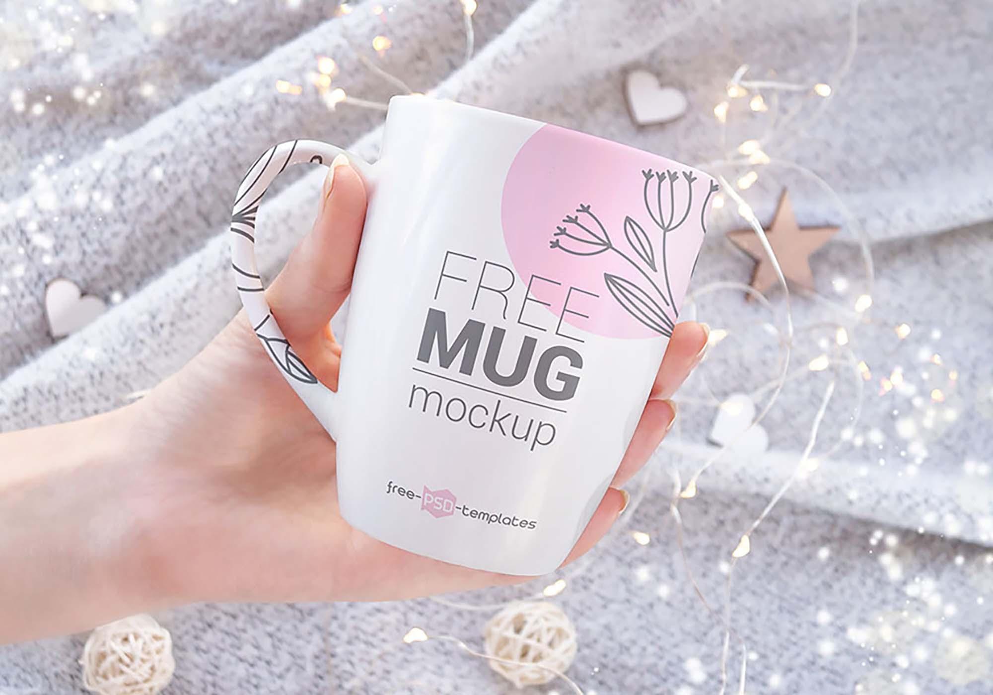 Realistic Mug Mockup 1