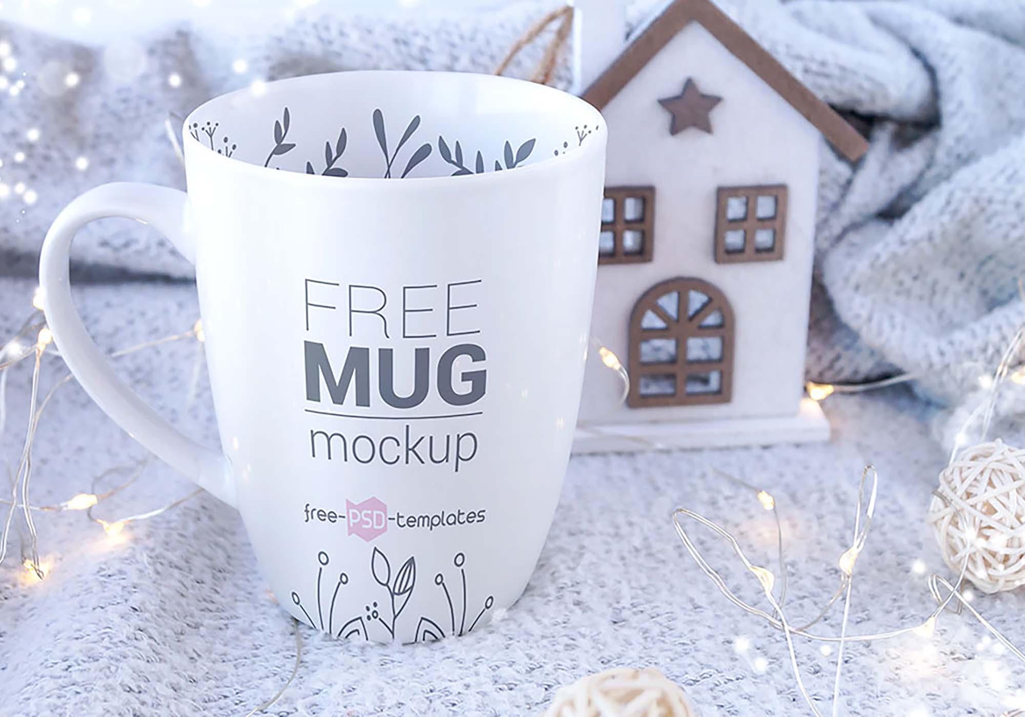 Realistic Mug Mockup 2