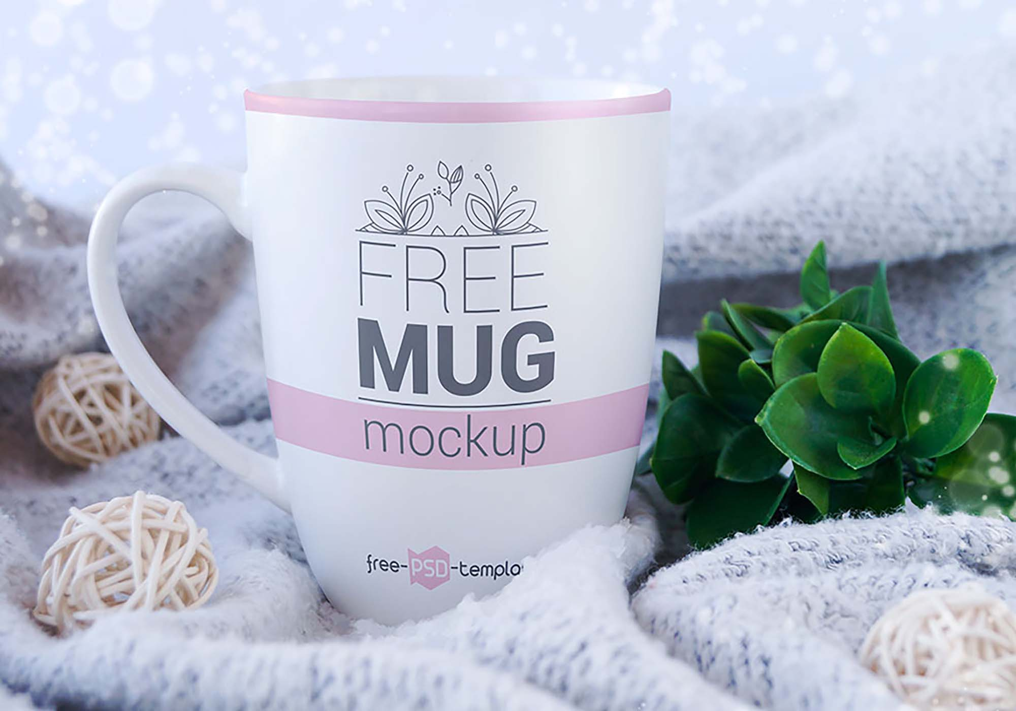 Realistic Mug Mockup 3