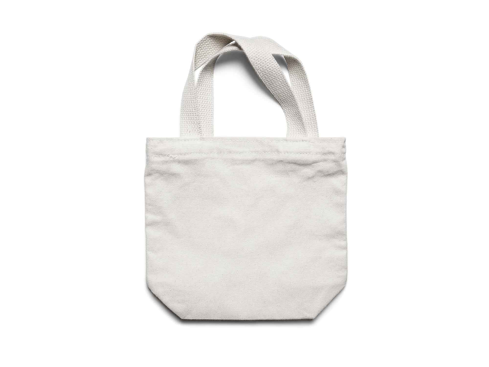 Small Canvas Tote Bag Mockup 2
