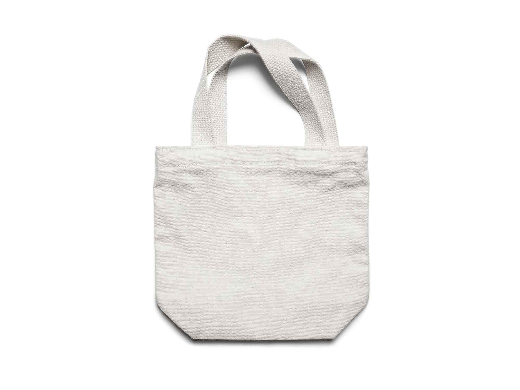 Small Canvas Tote Bag Mockup 2
