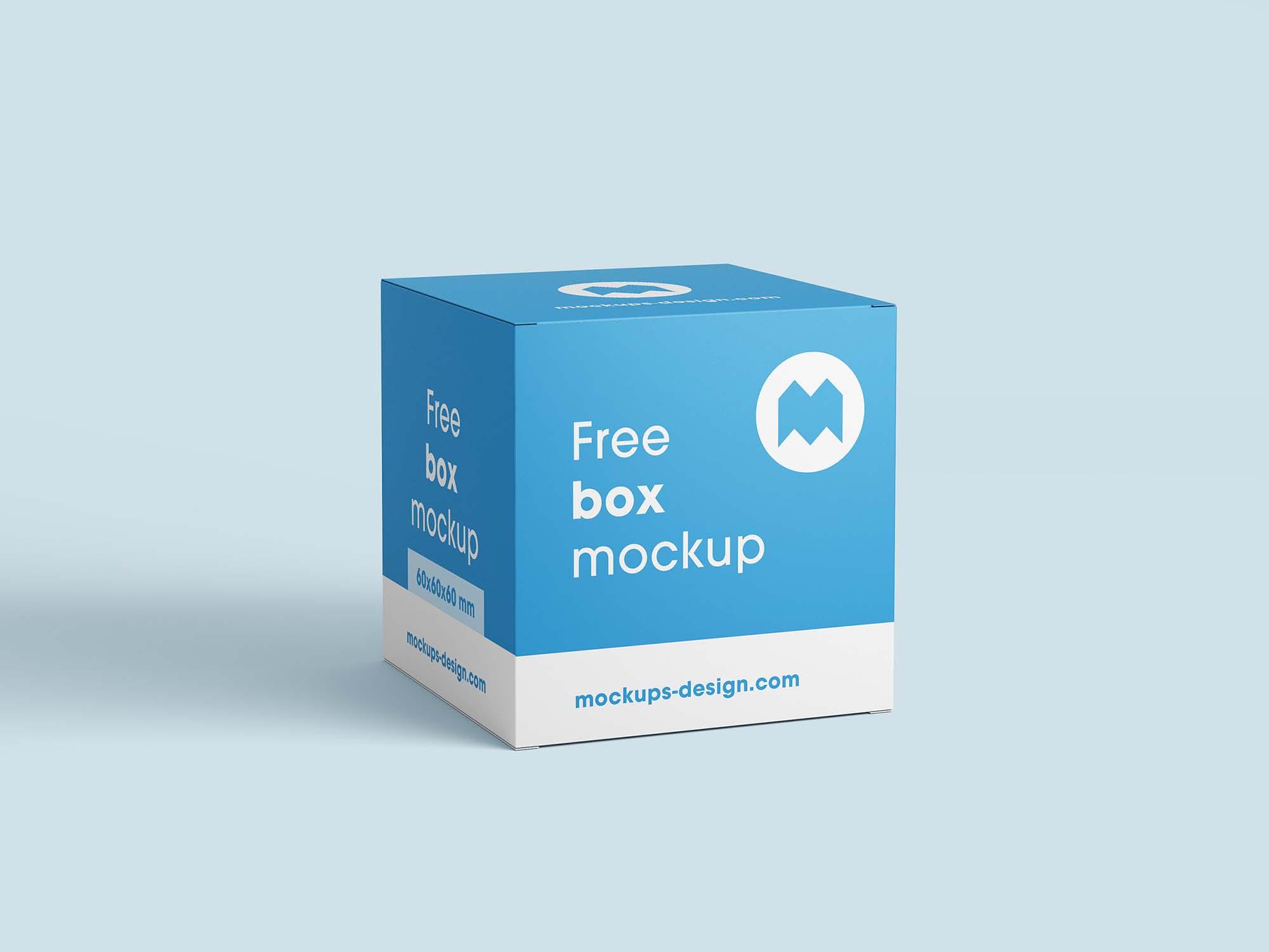 Square Boxes Mockup 2
